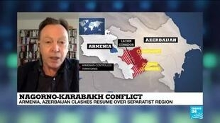 2020-10-05 15:05 Nagorno-Karabakh conflict: International ceasefire calls ignored