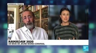 """2020-04-24 16:03 Pandémie de Covid-19 - Ramadan : """"L'esprit lui n'est pas confiné"""""""