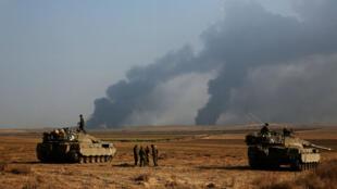 Des soldats israéliens près de la frontière avec Gaza, le 22 juillet 2014.
