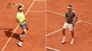 Rafael Nadal et Roger Federer s'affronteront en demi-finale de Roland-Garros.