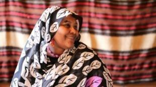 """مريم الصادق المهدي، قيادية في """"حزب الأمة"""" السوداني المعارض في الخرطوم. 3 يناير/كانون الثاني 2016."""