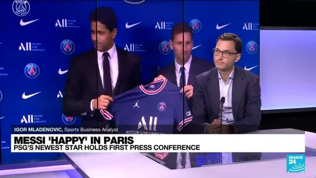 2021-08-11 13:02 Messi signs two-year deal with PSG: Could the French football economy benefit from his arrival?