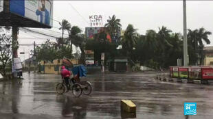 Le cyclone Bulbul a frappé les zones côtières du Bangladesh et de l'Inde, samedi 9 novembre.