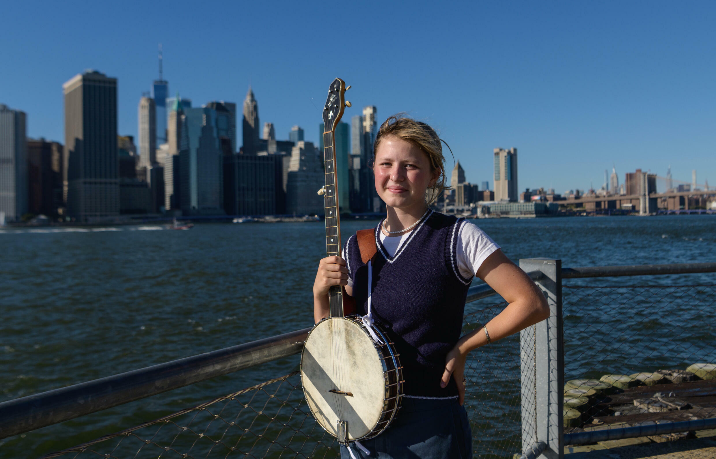 When her parents gave Nora Brown a ukulele for Christmas at the age of six, they never imagined she would become one of the rising stars of the bluegrass world.