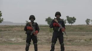 القوات النيجيرية الخاصة في غواغوالادا. 17 أبريل/نيسان 2018.