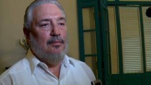 فيدل كاسترو دياز بالارت نجل زعيم الثورة الكوبية الراحل فيدل كاسترو