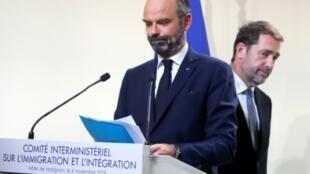 إدوار فيليب رئيس الحكومة الفرنسية