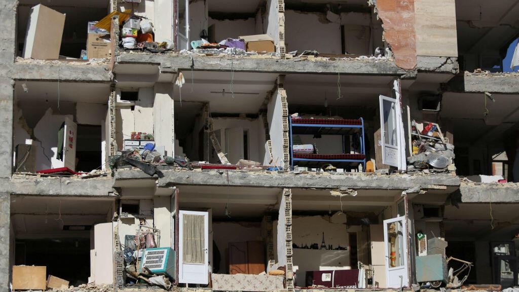 Así quedaron muchas edificaciones en Halabja, Irán. Fue tomada en noviembre 13 un día después del terremoto de magnitud 7.3.