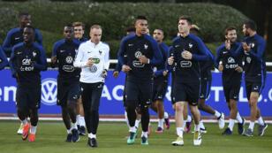 L'équipe de France affronte la Bulgarie, vendredi soir, au Stade de France.