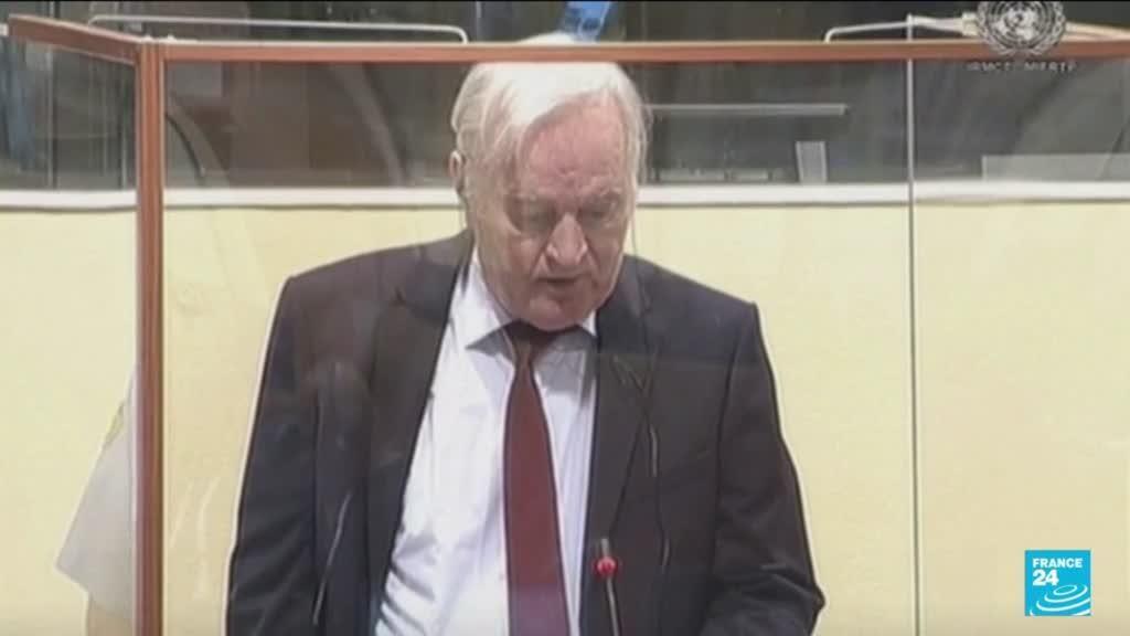 """2021-06-08 10:06 Procès en appel de Ratko Mladic : le """"Boucher des Balkans"""" bientôt fixé sur son sort"""