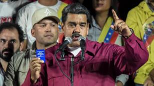 Le président vénézuélien Nicolas Maduro, le 22 mai 2018, à Caracas
