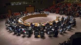 Le Conseil de sécurité de l'ONU, le 22 décembre 2014.
