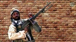 جماعة بوكو حرام/أ ف ب/أرشيف / فيل هيزلوود | لقطة من فيديو لبوكو حرام تظهر زعيمها أبو بكر الشكوي في 15 كانون الثاني/يناير 2018