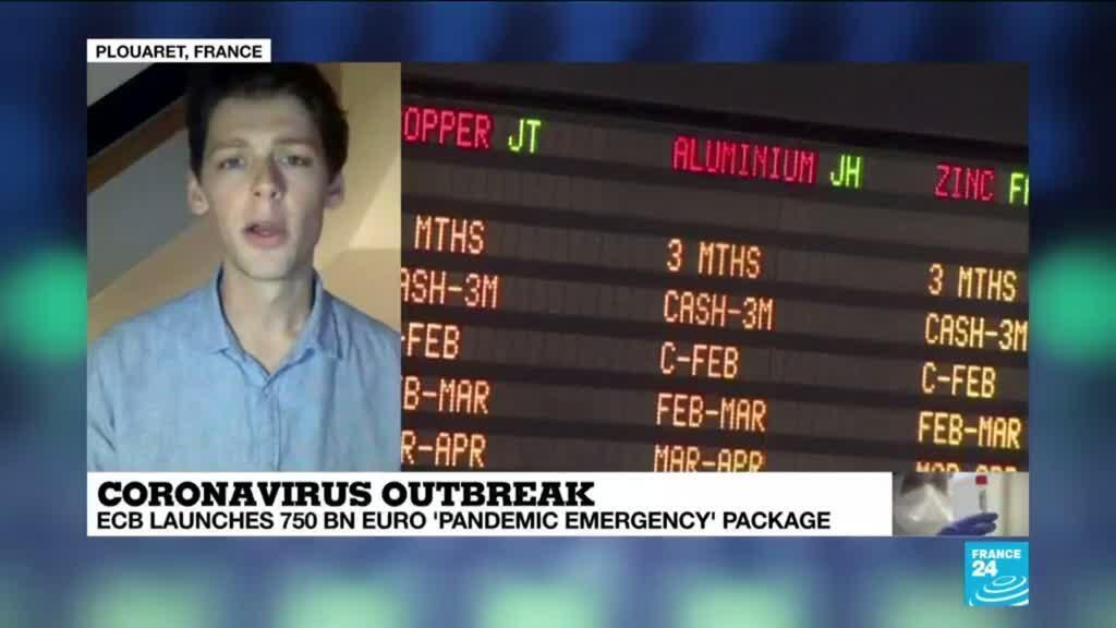 """2020-03-19 13:32 Coronavirus: How significant is the """"pandemic emergency"""" package announced by the European Central Bank?"""