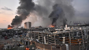 Liban explosion Beyrouth