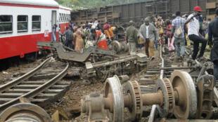 Le déraillement du train, vendredi, a provoqué la mort de plusieurs dizaines de personnes.