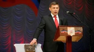 El líder separatista dela República Popular de Donetsk Alexander Zakharchenko murió en una explosión en el centro de la ciudad el 31 de agosto de 2018.