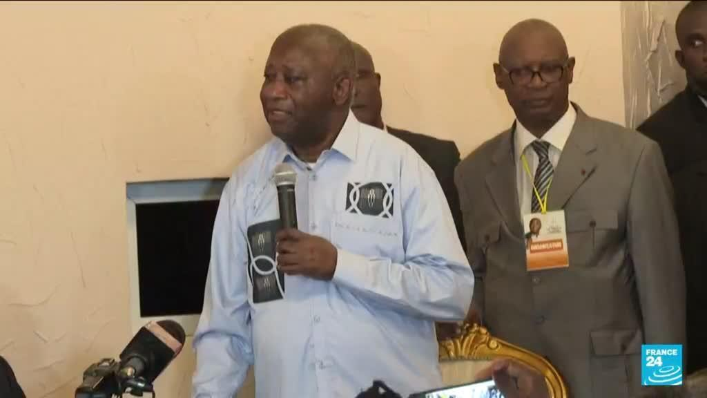 2021-06-18 10:09 Former president Laurent Gbagbo back in Ivory Coast after ICC acquittal