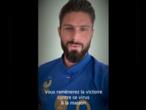 """""""Vous allez gagner ce match contre le virus"""": les Bleus soutiennent les soignants face au Covid-19"""