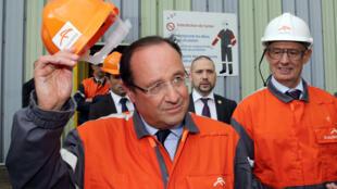 En 2013, François Hollande s'est engagé à revenir tous les ans sur le site de Florange.