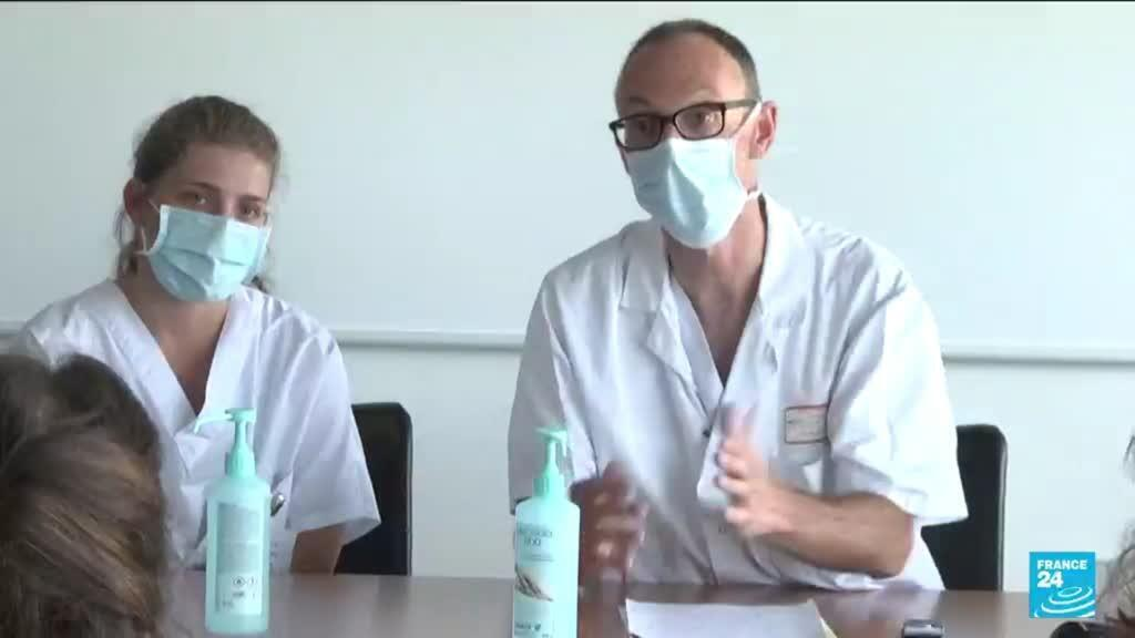 2021-07-30 12:01 In France's Strasbourg, hospitals are reporting more coronavirus admissions