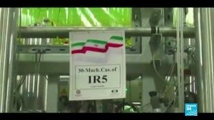 """2021-04-14 10:01 Nucléaire iranien : Rohani dénonce le """"terrorisme nucléaire"""" d'Israël"""