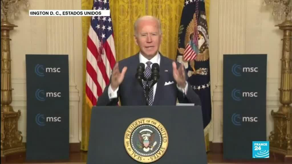 2021-02-20 12:37 Estados Unidos oficializó su regreso al multilateralismo