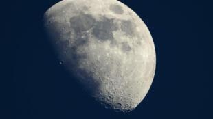 La Lune le 13 mai 2019, photographiée depuis Cannes