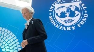Christine Lagarde, présidente du FMI, le 10 avril 2019 à Washington