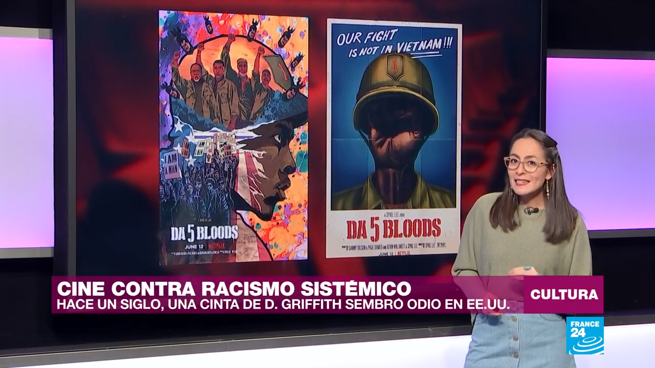 Cine contra racismo sistémico. La más reciente película del director estadounidense Spike Lee, 'Da 5 Bloods', apunta ahí y a las grandes heridas de Estados Unidos.
