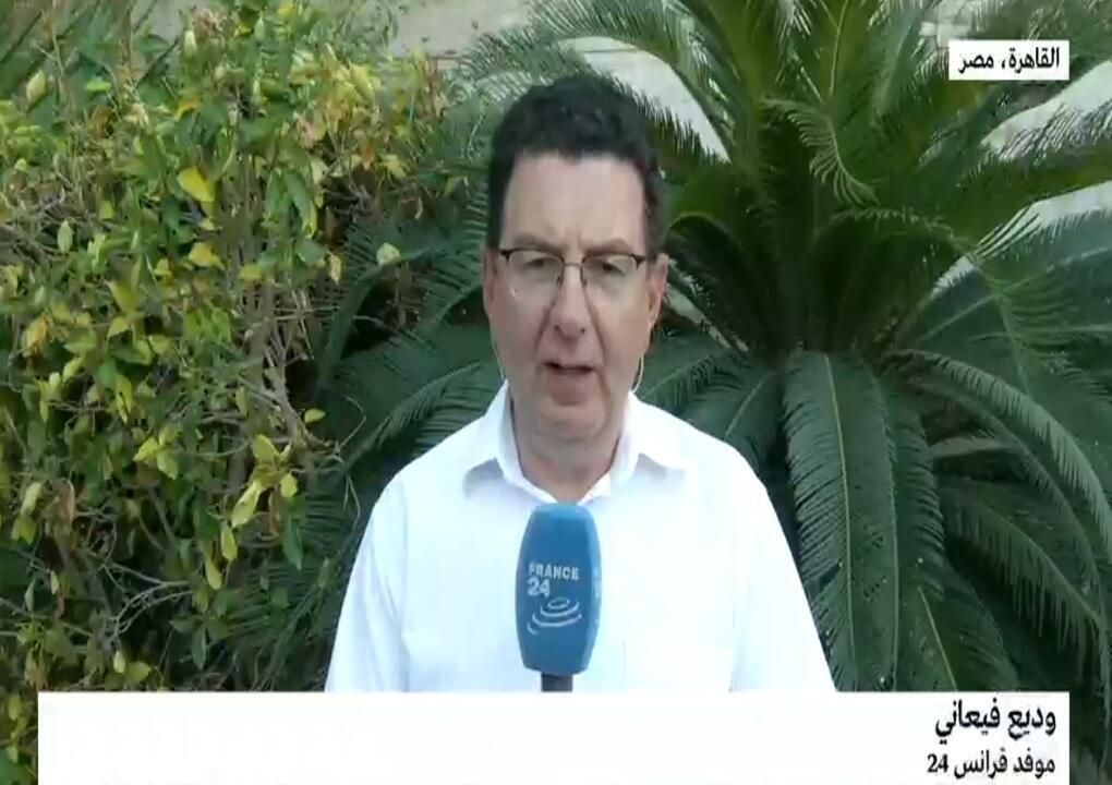 وديع فيعاني موفد فرانس 24 إلى القاهرة.