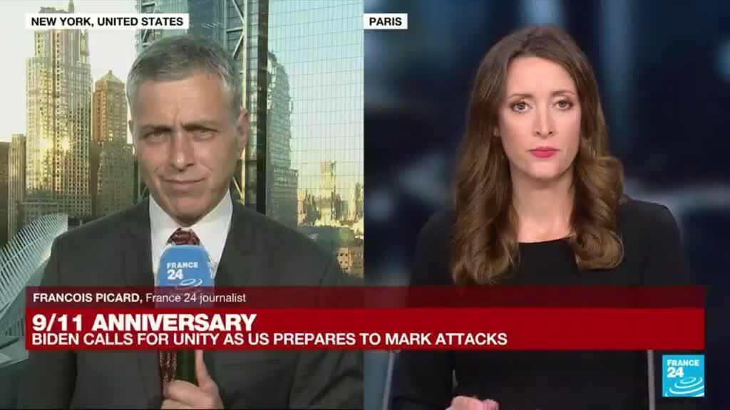 2021-09-11 13:01 9/11 anniversary: Biden calls for unity as nation prepares to mark attacks