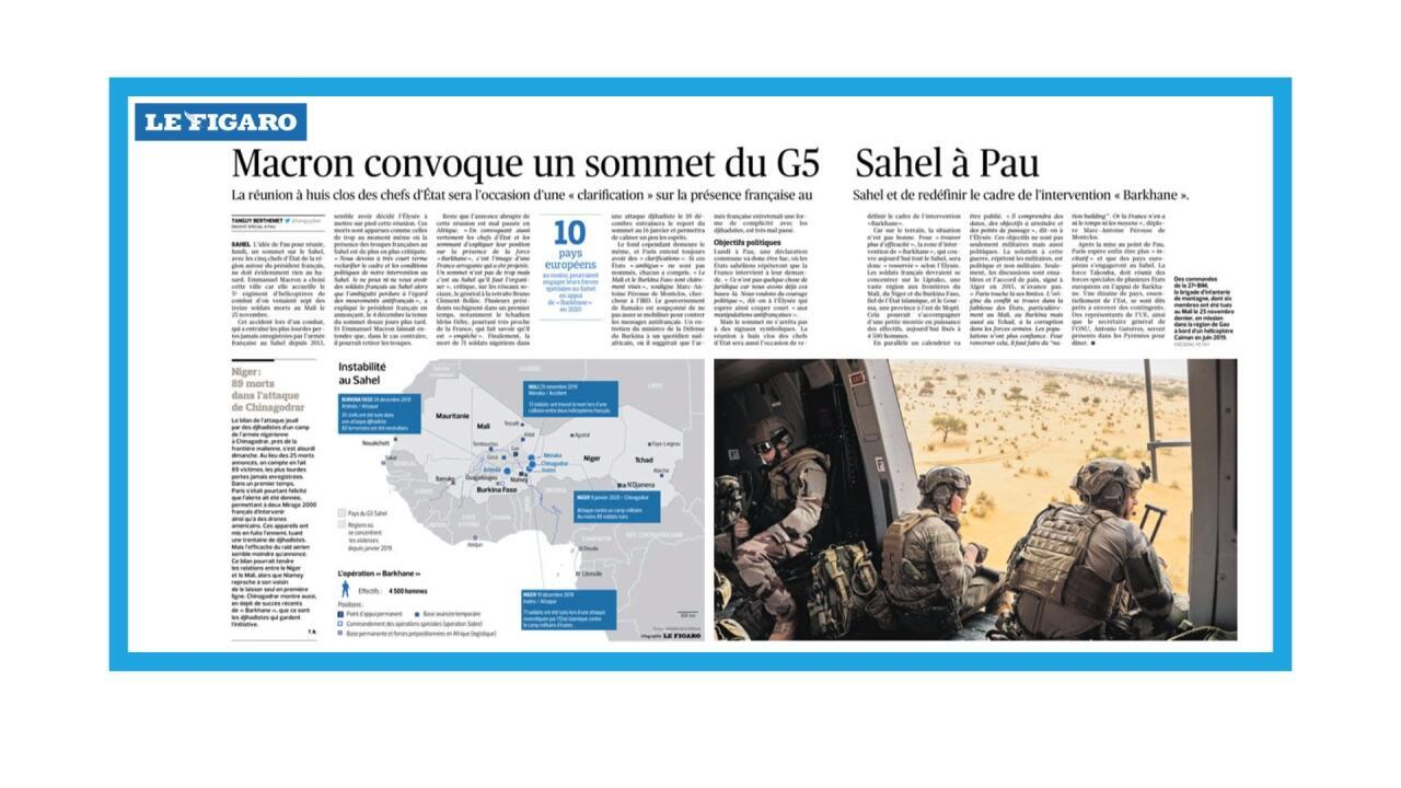 Sommet du G5 Sahel à Pau