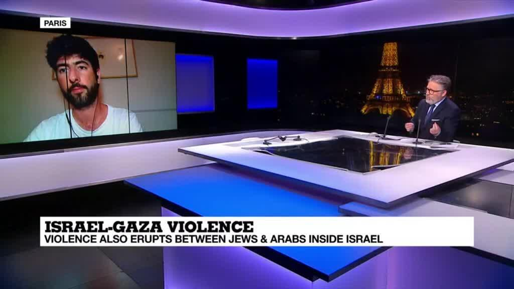 """2021-05-17 22:04 Israel-Gaza violence: """"What gives me hope is that tens of thousands of Arabs and Jews are taking a stand"""""""