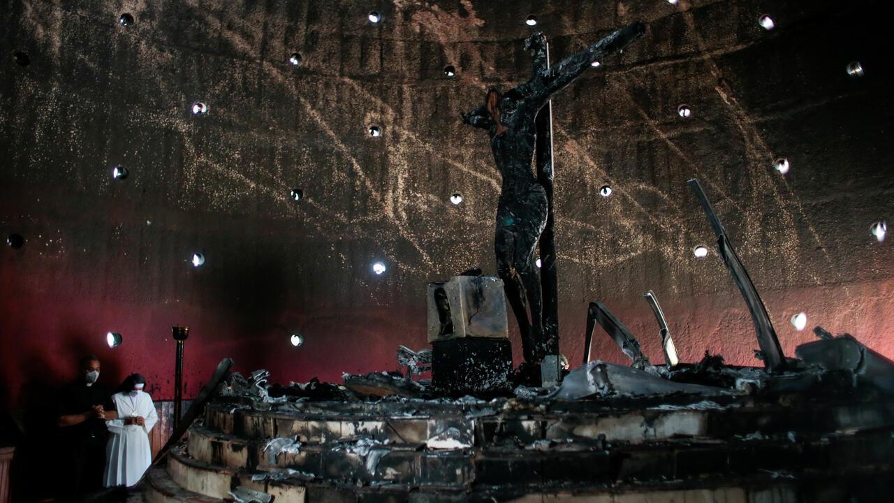 Catedralincendionicaragua