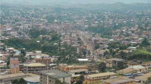 Bamenda, capitale anglophone du nord-ouest du Cameroun, le 16 juin 2017.