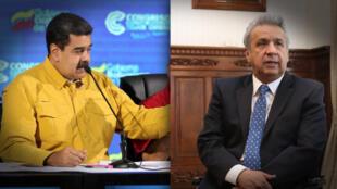 """La escalada en la tensión se produce luego de que Quito expulsara a la embajadora venezolana por declaraciones ofensivas del """"Gobierno de Maduro""""."""