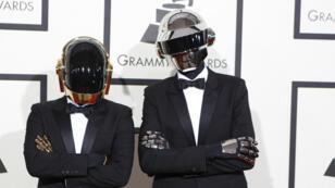 Les vrais Daft Punk.