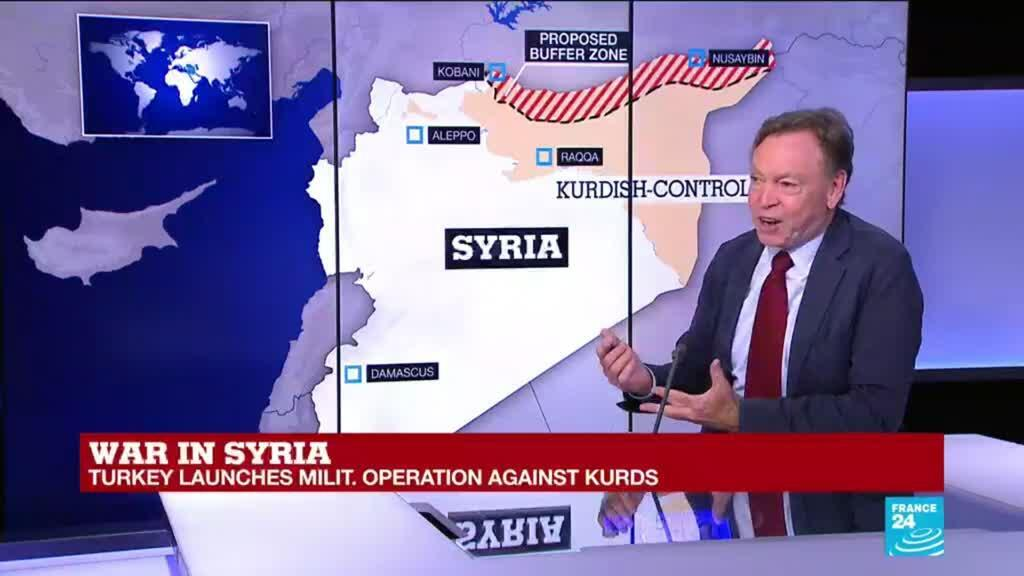 2019-10-09 15:38 Why does Turkey considers YPG fighters as terrorists?
