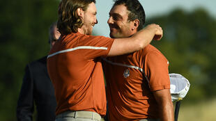 Tommy Fleetwood formed an unbeatable partnership with Francesco Molinari at the 2018 Ryder Cup