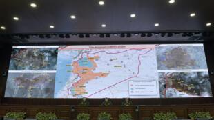 """مواقع أهم """"مناطق تخفيف التصعيد"""" في سوريا"""