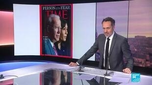 2020-12-11 09:13 Joe Biden and Kamala Harris jointly named Time's 'Person of the Year'