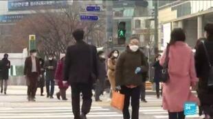 2020-11-27 10:07 Les cas de Covid-19 au plus haut depuis mars en Corée du Sud