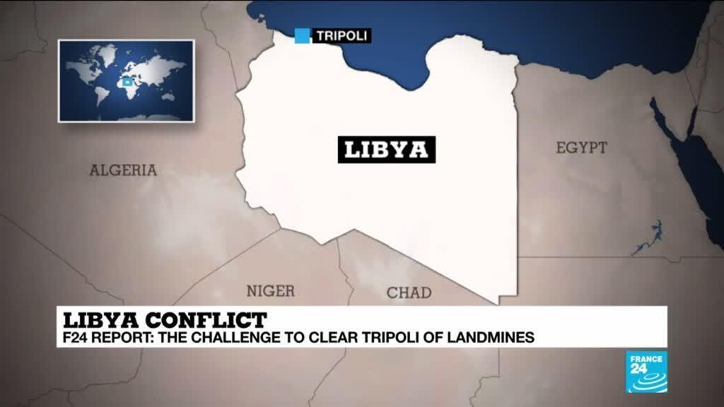 2020-07-08 12:12 Libyan deminers clear Tripoli of hidden threats