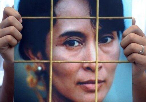 Aung San Suu Kyi, líder de la Liga Nacional por la Democracia (LND) de Myanmar, e hija del general y líder independentista asesinado Aung San.