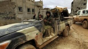 مقاتلون موالون لحفتر في بنغازي