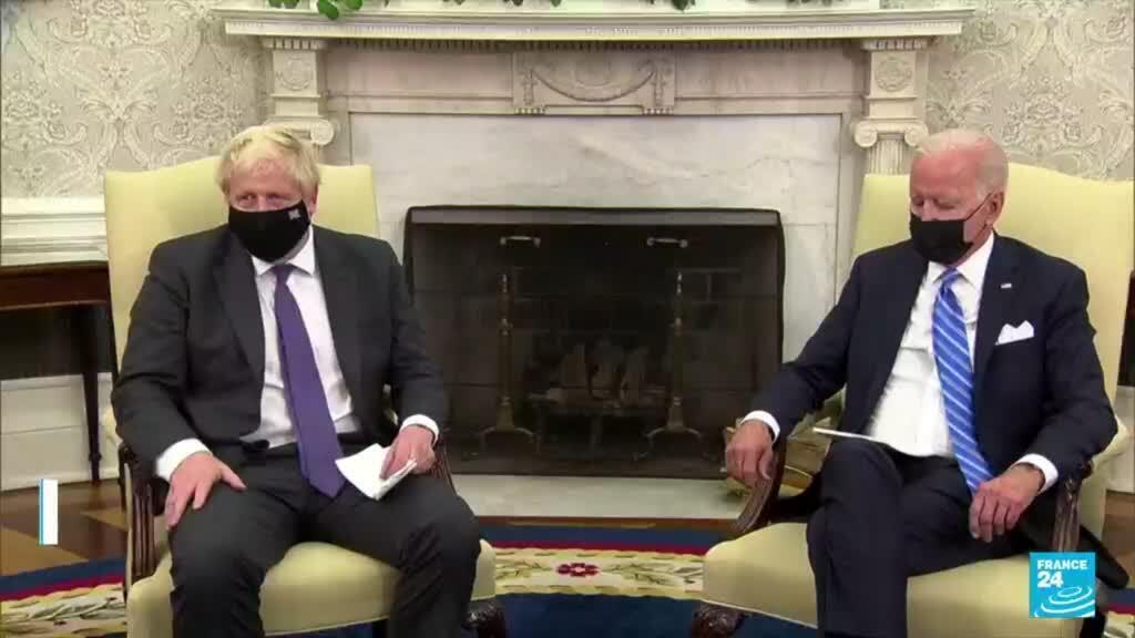 2021-09-22 09:02 US - UK talks: Biden, Johnson talk defence, trade in White House meeting