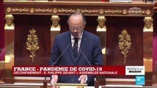2020-04-28 15:36 Écoles, travail, commerces, transports... Comment va s'organiser la vie des Français ?