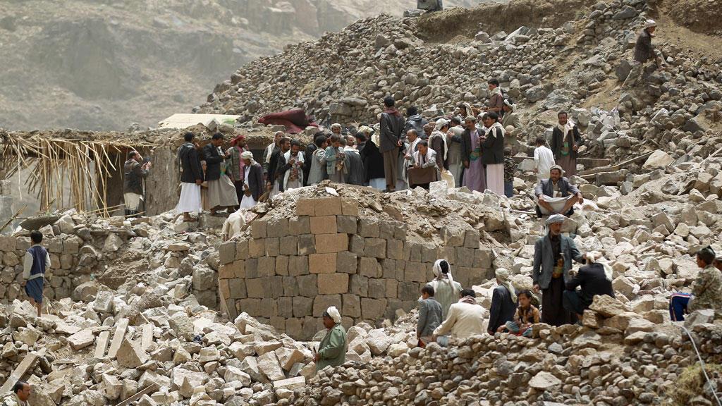 Le CICR a réclamé une trève de 24 heures pour pouvoir acheminer du matériel médical dans les zones bombardées par la coalition menée par l'Arabie Saoudite.