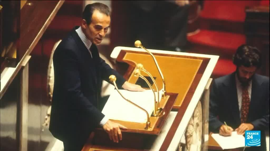 Robert Badinter, France's former Minister of Justice, announcing the abolition of the death penalty to French parliament in 1981.